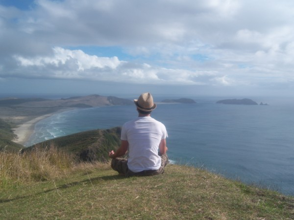 Justin Jones at Cape Reinga NZ