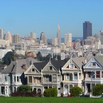 San Francisco's Painted Ladies (Photo via Wikimedia Commons)