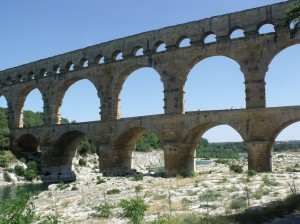 Most aqueducts around France are from the 19th centuary by Elliot Brown (flickr)