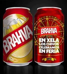 Cerveza Brahva: Because it's cheaper than Gallo!