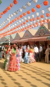 The Feria de Abril in Sevilla, Spain. Photo by Ed Tarwinski.