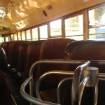 An empty Chicken Bus is a rare and beautiful thing.