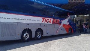 Ticabus: The opposite of a Chicken Bus.
