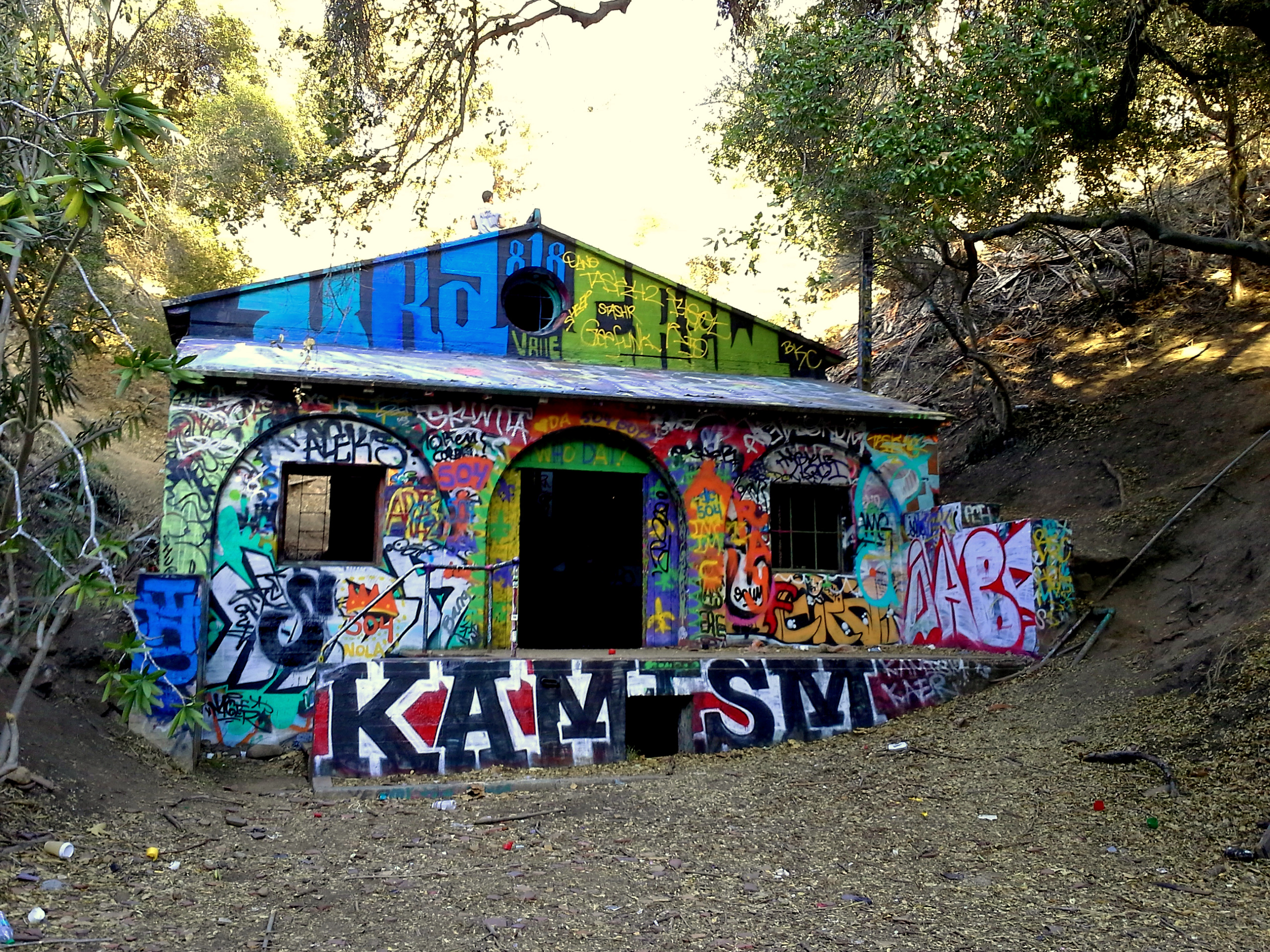 Murphy Ranch A Hike To A Former Nazi Compound In The